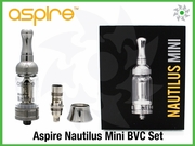 Aspire Nautilus Mini BVC Glass Tank Set