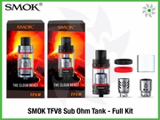 SMOK TFV8 Sub Ohm Tank - Full Kit