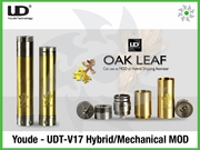 Youde - UDT-V17 Hybrid/Mechanical MOD Oak Leaf