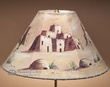 "16"" Painted Leather Lamp Shade -Pueblo"