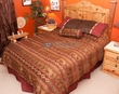 5 Pc. Rustic Lodge Bedding Comforter Set -Cascade Lodge KING
