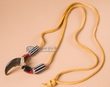 "American Indian Real Bear Claw Necklace 30"" -Navajo"