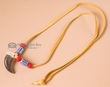"""American Indian Real Bear Claw Necklace 30"""" -Navajo"""