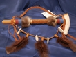 "American Indian Draped Peace Pipe 12"" -Navajo (70)"