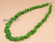 "American Indian Necklace 17"" -Green"