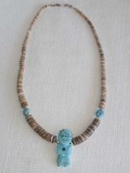 Native American Beaded Jewelry - Necklace
