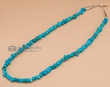 "American Indian Jewelry Necklace 18.5"" -Turquoise"