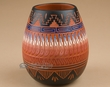 "American Indian Pottery Vase 5.5""  -Hand Etched  (p228)"