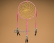 "American Indian Shoshone Dreamcatcher 10"" -Pink  (dc10-5)"