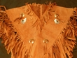 American Indian Style Chaleco Dance Shirt - Coyote