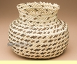"American Indian Style Yucca Basket 7.5"" x 6"" (b6)"