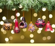 Southwestern Christmas Ornament Set -Andean  (o60)