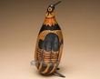 "Andean Indian Hand Carved Gourd Southwest Bird 11""  (b2)"