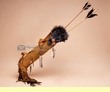 Antiqued Native American Fox Quiver -Navajo  (2)
