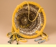 "Native American Apache Burden Basket 6""  (kb1)"