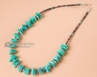 "Authentic Navajo Indian Necklace 16""  (n180)"