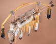 "Navajo Bow, Arrow & Quiver Set 42"" -Coyote Pelt  (b49)"