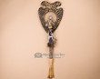 Beaded Tomahawk & Display Plaque -Dreamcatcher  (t155)