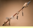 "Beaded Native American Indian Lance 53"" -Creek  (L5a)"