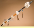 "Beaded Native American Indian Lance 54"" -Creek  (L6)"