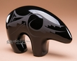 "Black On Black Navajo Pottery Bear 3.5""  (p361)"