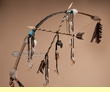 "Brown Native American Bow & Arrow 47"" -Good Medicine"