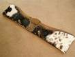 Carved Western Cowhide Coat Hat Rack -Steer (5)