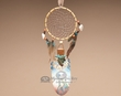 "Cedar Feather Dream Catcher 11"" -Proud Wolf Clan  (106)"