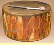 Cedar Pow Wow Drum 22x12 -Damage Clearance