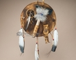 "Native American Indian Tomahawk Shield 12""  (s3)"
