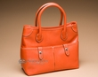 Classic Designer Fashion Purse -Orange  (p442)