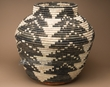 "Coiled Navajo Style Olla Basket 22""  (a55)"