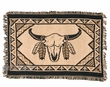 "Cotton Southwestern Placemat  -13""x19"" -Buffalo Skull"