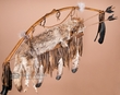 "Navajo Old Style Coyote Bow & Quiver Set 42""  (b13a)"