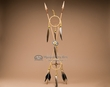 Crossed Dreamcatcher Medicine Wheel Arrows  (ca2)