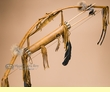 "Curtis Bitsui Bow & Arrow Quiver 43"" -Antiqued (B34)"