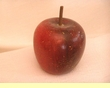 Decorative Country Wooden Apple 3""