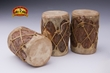 Decorative Tarahumara Indian Log Drum Set  3.5""