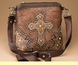 Designer Cross Western Messenger Bag Purse  (p471)