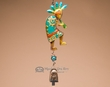 "Designer Hand Painted Wind Bell 16"" -Kokopelli"