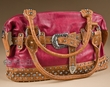 Designer Western Belt Purse -Rose  (428)