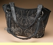 Designer Western Purse -Black  (p401)