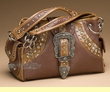 Designer Western Purse -Brown  (p400)