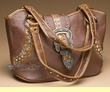 Designer Western Purse -Brown  (p407)