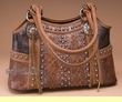 Designer Western Style Purse -Brown  (p413)