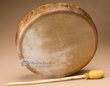 "Elk Native American Hand Drum 12"" -Taos"