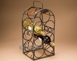 "Italian Style 7 Bottle Wine Rack 18.5"" -Sovana  (wr10)"