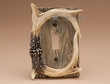 Faux Deer Antler Light Switch Cover -Single  (aa35)