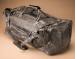 "Genuine Leather Duffle Bag 23"" -Grey  (db7)"