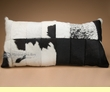 "Genuine Patchwork Cowhide Pillow 34""  (p54)"